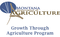 Montana department of agriculture, growth through agriculture program